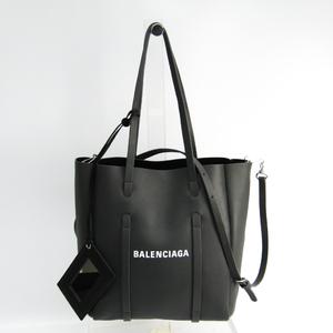 バレンシアガ(Balenciaga) エブリデイ トート XS 489813 レディース レザー トートバッグ グレー