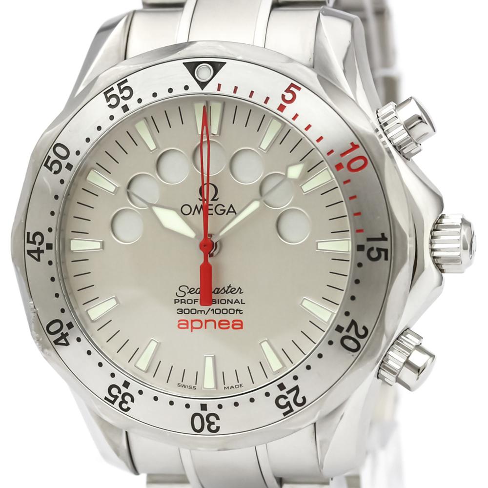 OMEGA Seamaster Pro 300M Apnea Jacques Mayol Watch 2595.30