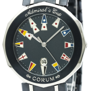 Corum Admiral's Cup Quartz Stainless Steel Men's Dress Watch 99.810.30