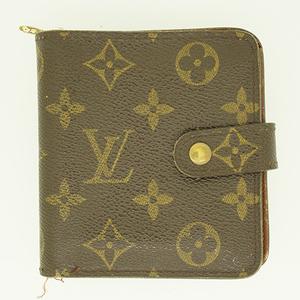 ルイヴィトン 財布 モノグラム コンパクトジップ M61667