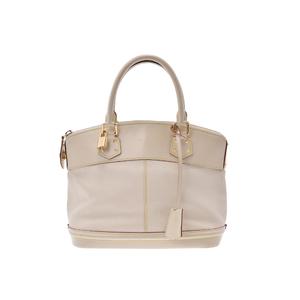 Louis Vuitton Lockit PM M91887 Handbag White