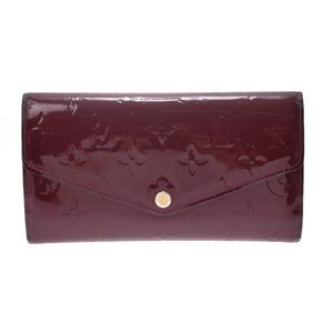 Louis Vuitton Vernis M90292 Vernis Wallet Magenta