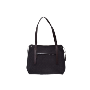 Gucci Totebag GG Canvas Tote Bag Black,Brown