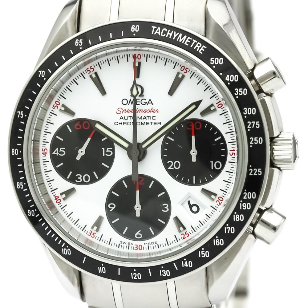 【OMEGA】オメガ スピードマスター デイト ステンレススチール 自動巻き メンズ 時計 323.30.40.40.04.001
