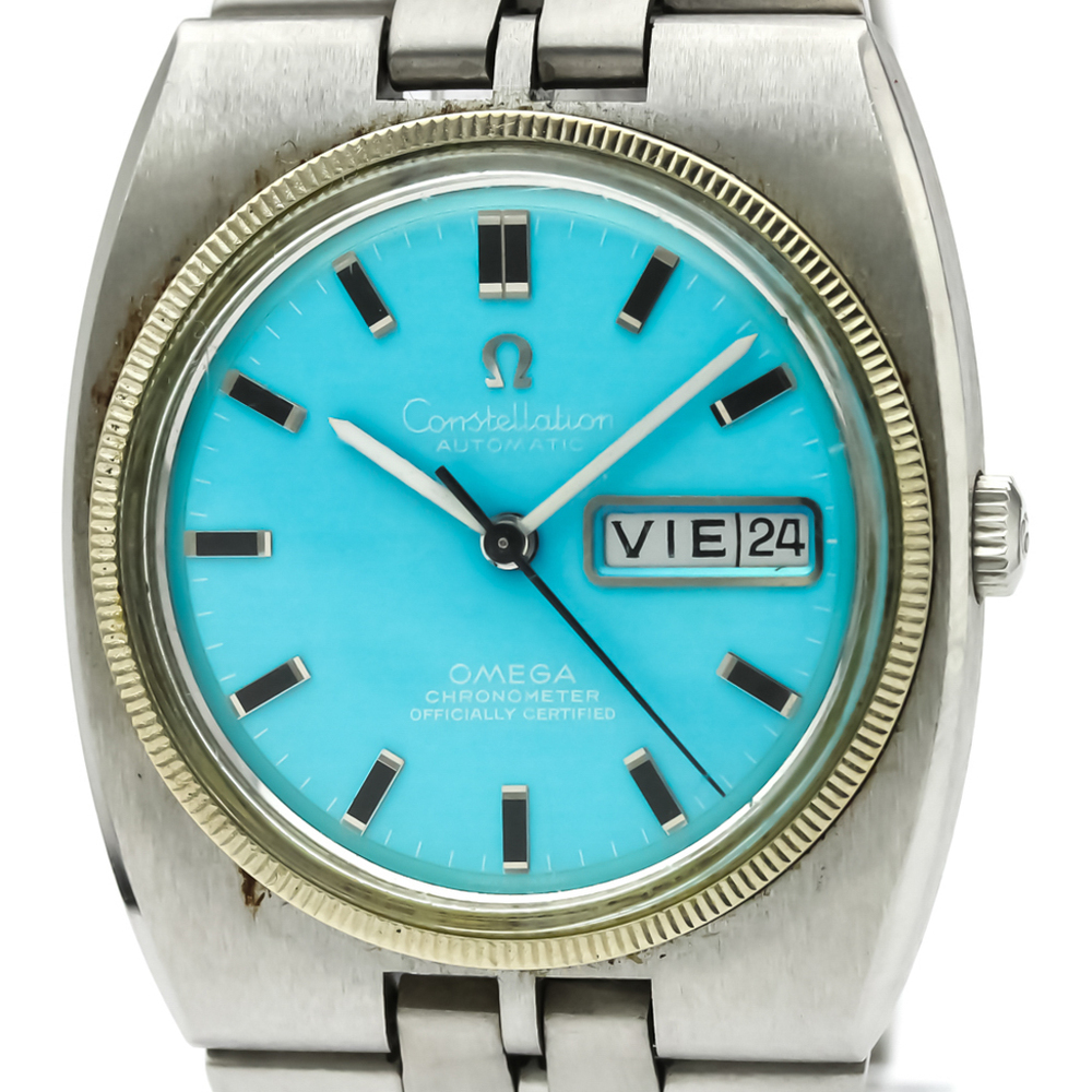 Omega Constellation Automatic Stainless Steel Men's Dress Watch 168.045