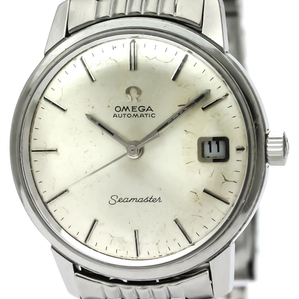 オメガ(Omega) シーマスター 自動巻き ステンレススチール(SS) メンズ ドレスウォッチ 166.037