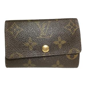 Auth Louis Vuitton Monogram M62630 Multicle 6 key holder case