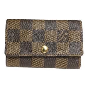 Auth Louis Vuitton N62630 Multicles 6 Damie Ebene Keycase
