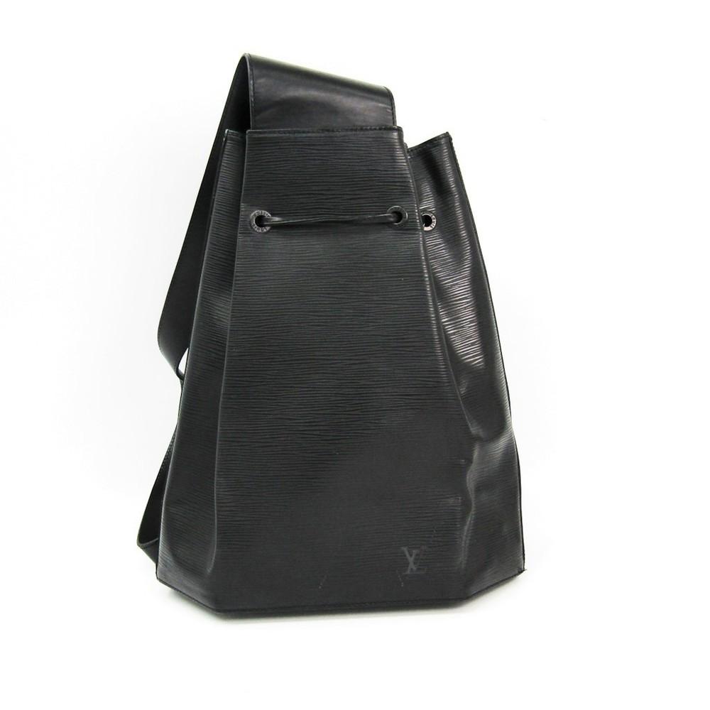 Louis Vuitton Epi Sac A Dos M80153 Shoulder Bag Noir