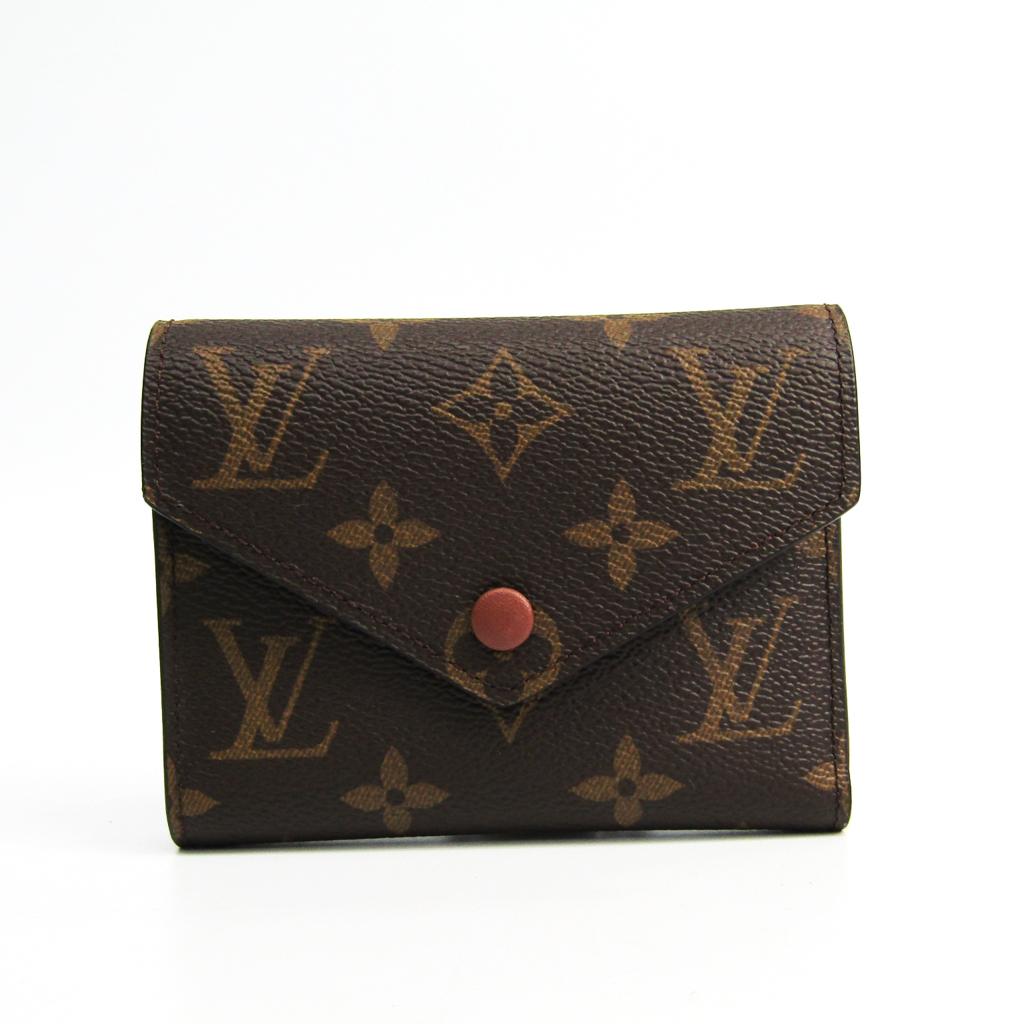 fd514a1dbe8 Louis Vuitton Monogram VICTORINE WALLET M62472 Women's Monogram ...