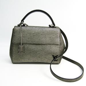 Louis Vuitton Epi Cluny BB M54831 Women's Handbag Platine