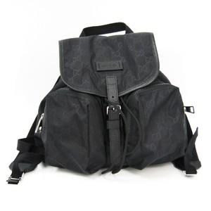 Gucci 510343 Women's Nylon Backpack Black