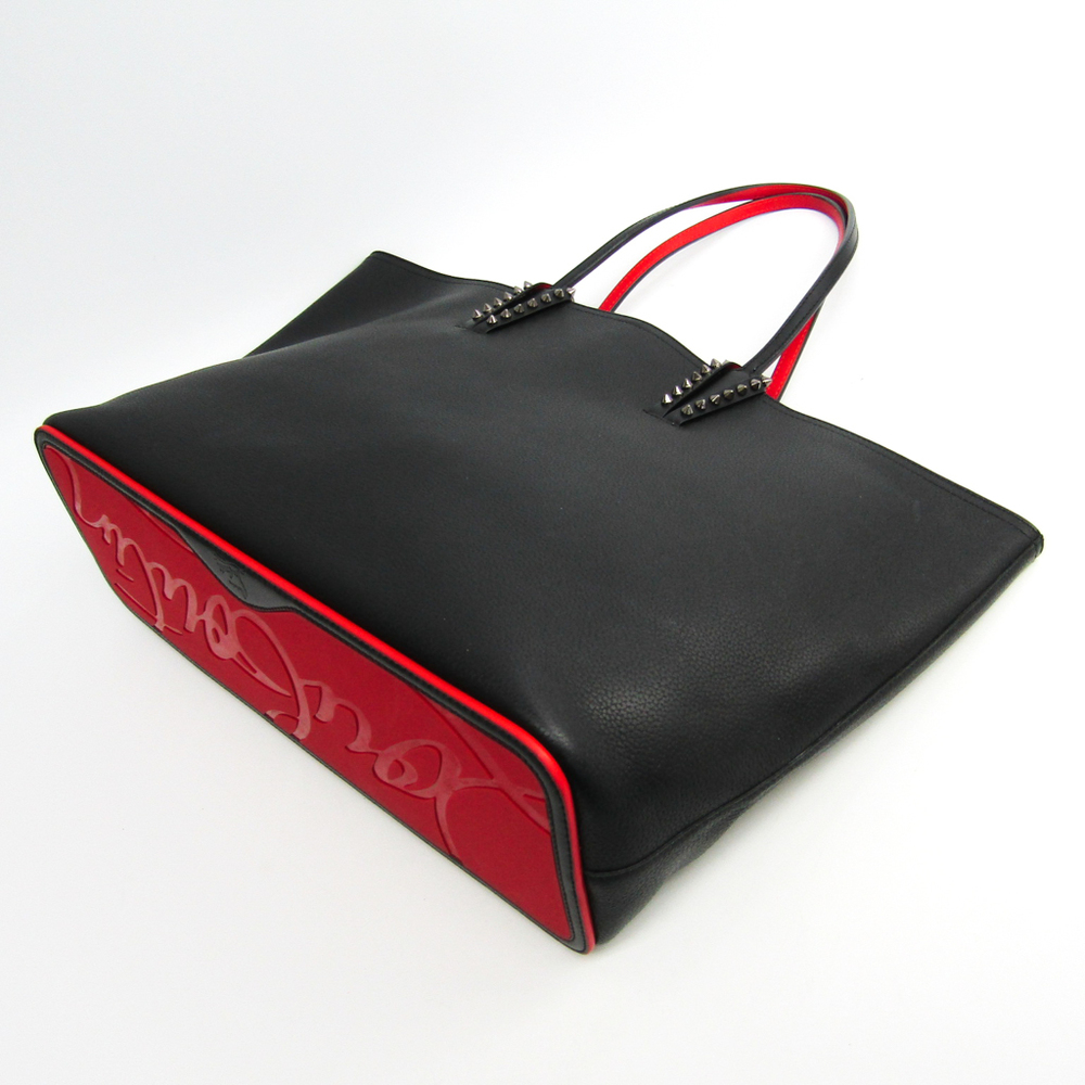adc072f5c2 Christian Louboutin Cabata 1175113 Unisex Leather Studded Tote Bag Black