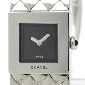 シャネル(Chanel) マトラッセ クォーツ ステンレススチール(SS) レディース ドレスウォッチ H0009