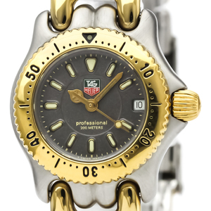 Tag Heuer Sel Quartz Gold Plated,Stainless Steel Women's Dress Watch WG1420