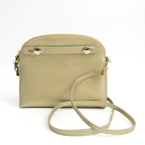 Furla Piper Mini Cross Body Women's Leather Shoulder Bag Gold