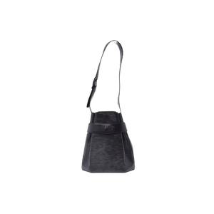 Louis Vuitton Epi Sac D'Epaule M80157 Women's Shoulder Bag Noir