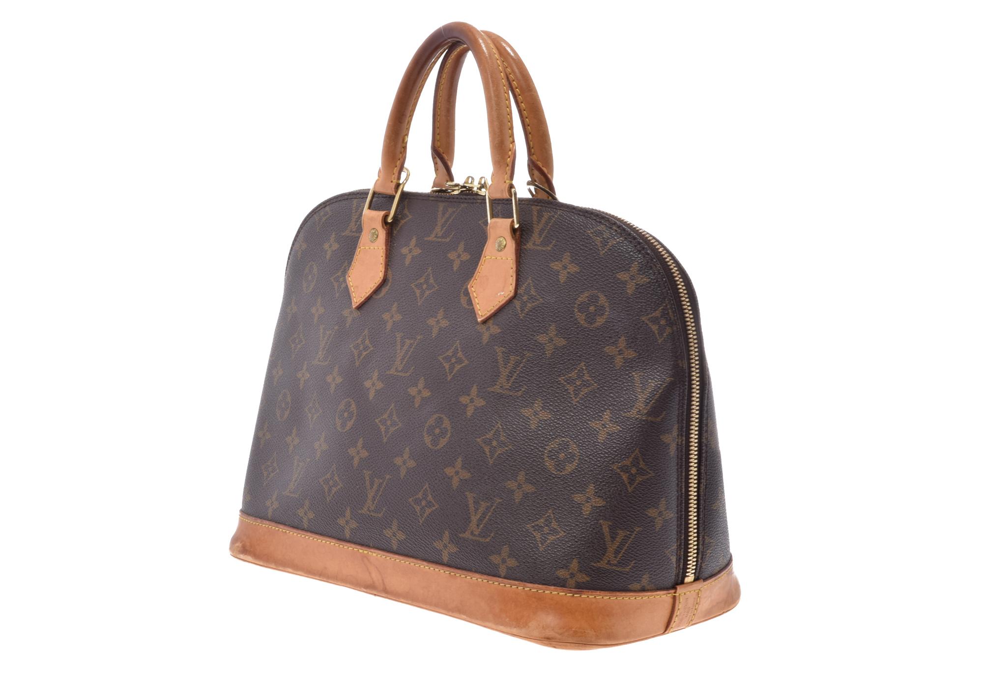 80f865c27591 Authentic Louis Vuitton Alma M51130 Handbag Monogram 808000608314000 ...