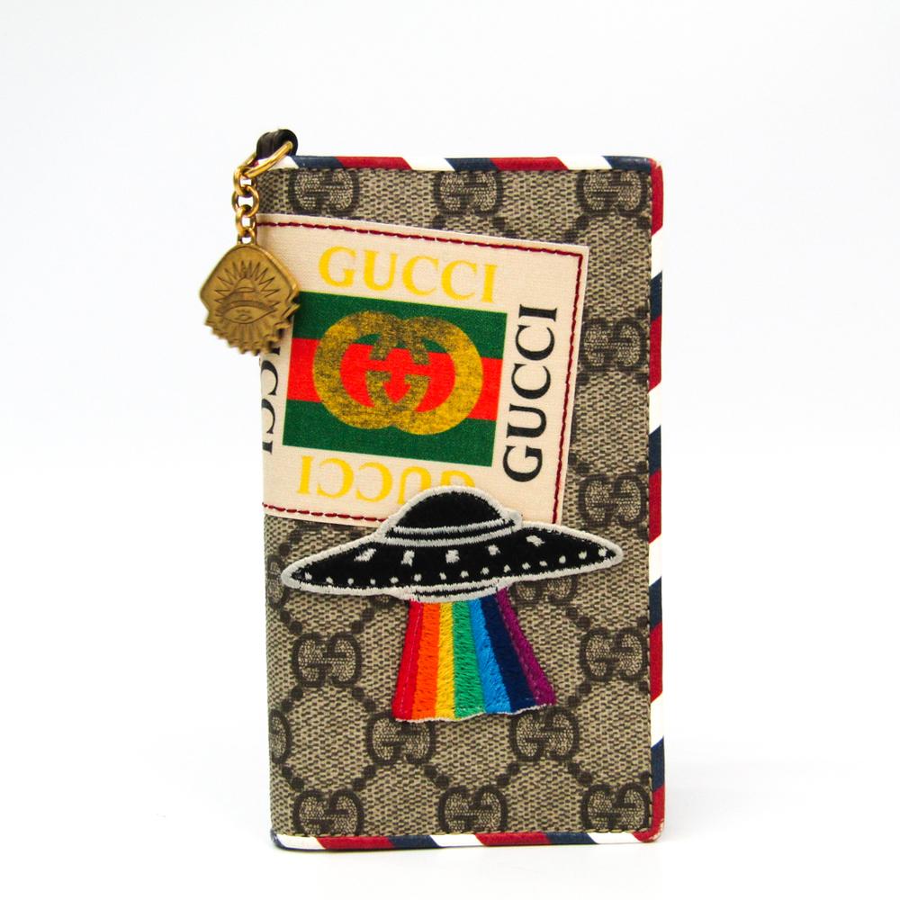 new concept 70c9e 6b4f4 Gucci GG Supreme Phone Flip Case For IPhone 7 Multi-color,Beige ...