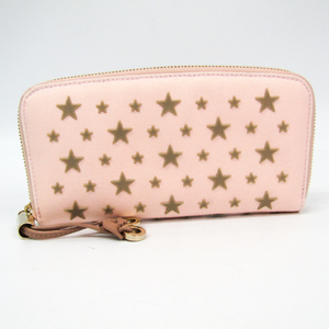 Jimmy Choo FILIPA CANVAS WITH STAR APPLICATION J000100778001 Women's Canvas Long Wallet (bi-fold)