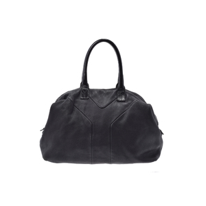 Saint Laurent Easy Handbag Leather Bag Black