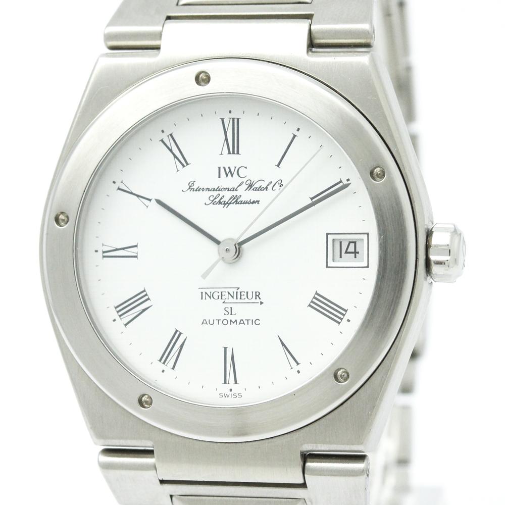 (IWC) インヂュニア SL ステンレススチール 自動巻き メンズ 時計IW3506 (外装仕上げ済み)