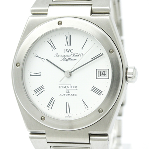 Polished IWC Ingenieur SL Stainless Steel Automatic Mens Watch IW3506