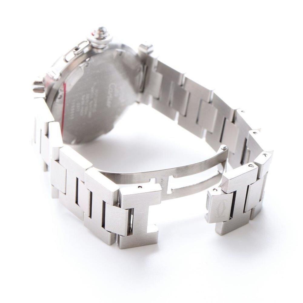 カルティエ(Cartier) パシャ・ドゥ・カルティエ 自動巻き ステンレススチール(SS) ユニセックス ドレスウォッチ W31029M7