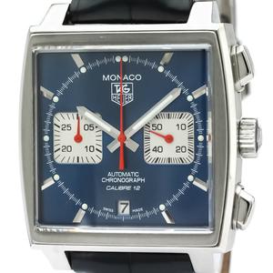 TAG HEUER Monaco Chronograph Steel Automatic Watch CAW2111