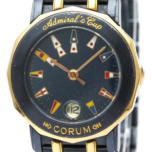 Corum Admiral's Cup Quartz Pink Gold (18K),Stainless Steel Women's Dress Watch 39.130.34