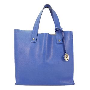 Auth Furla Tote Bag Blue