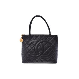 シャネル(Chanel) 復刻トート キャビアスキン 黒 SV金具 CHANEL バッグ