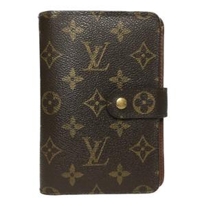 Auth Louis Vuitton Monogram M61207 Portopapie Zip Women's Wallet (bi-fold)