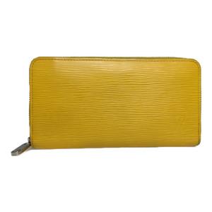 Auth Louis Vuitton Epi M60437 Zippy Long Wallet (bi-fold) Yellow