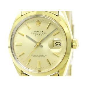 ロレックス(Rolex) ROLEX ロレックス オイスター パーペチュアル デイト 1500 自動巻き メンズ 時計 1500