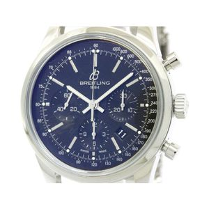 BREITLING Transocean Chronograph Steel Automatic Watch AB0152