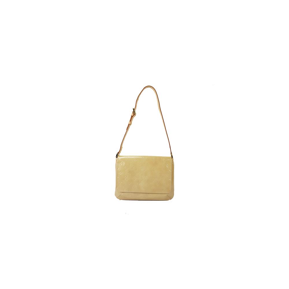b5308ac90418 Auth Louis Vuitton Shoulder Bag Vernis Thompson Street