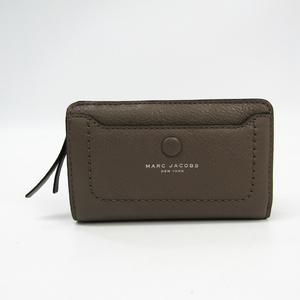 マーク・ジェイコブス(Marc Jacobs) Empire City compact Wallet M0013051 レディース レザー 財布(二つ折り) グレージュ