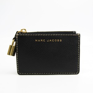 Marc Jacobs M0013680 Women's Leather Coin Purse/coin Case Black