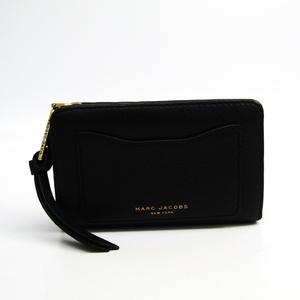 マーク・ジェイコブス(Marc Jacobs) M0008172 レディース レザー 財布(二つ折り) ブラック