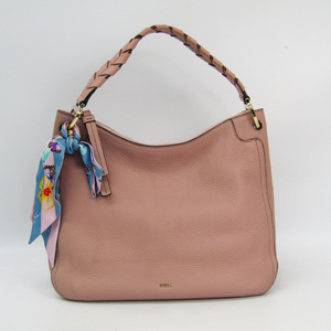 Furla Rialto Hobo 942313 Women's Leather Shoulder Bag Pink