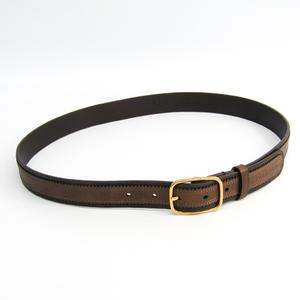 Louis Vuitton Women's Leather Belt Brown 90