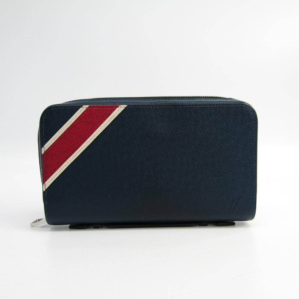 55df7bdc349a Details about Louis Vuitton Taiga Zippy XL M64019 Men s Taiga Leather Long  Wallet (bi BF334206