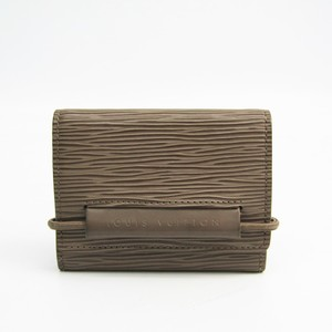 ルイ・ヴィトン(Louis Vuitton) エピ M6366C エピレザー 小銭入れ・コインケース ペッパー(ポワーヴル)
