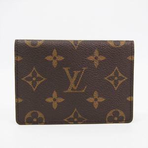 ルイ・ヴィトン(Louis Vuitton) モノグラム ポルト2カルトヴェルティカル M60533 モノグラム 定期入れ モノグラム