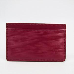 ルイ・ヴィトン(Louis Vuitton) エピ ポルト カルト サーンプル M60327 エピレザー カードケース フューシャ