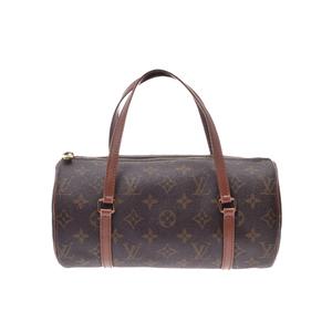ルイ・ヴィトン(Louis Vuitton) ルイヴィトン モノグラム パピヨンS ブラウン M51386 旧型 レディース 本革 ハンドバッグ ABランク LOUIS VUITTON 中古 銀蔵