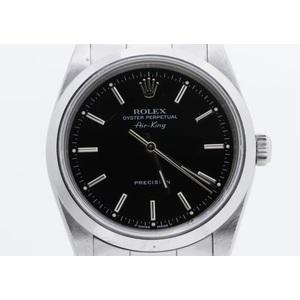 ロレックス(Rolex) エアキング 自動巻き ステンレススチール(SS) メンズ 腕時計 14000