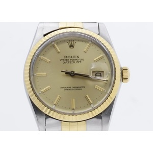 Rolex Datejust Automatic Stainless Steel,Yellow Gold Men's Dress Watch 16013