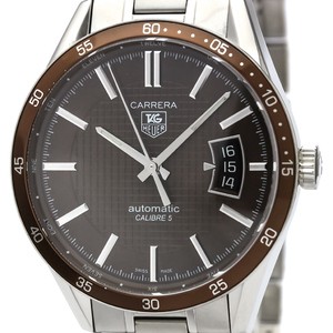 Tag Heuer Carrera Automatic Stainless Steel Men's Sports Watch WV211N